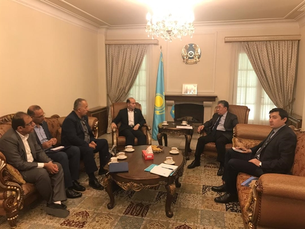 Kazakhstan's willingness to invest in construction of warehouses and silos in Chabahar port