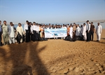 A Part of Chabahar Port' Beach Cleaned up